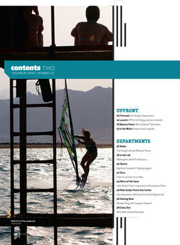 Contents Windsport Magazine (USA)