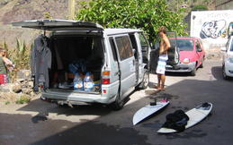 Tenerife, after surf