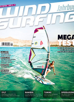 Front cover of Windsurfing Journal's year book